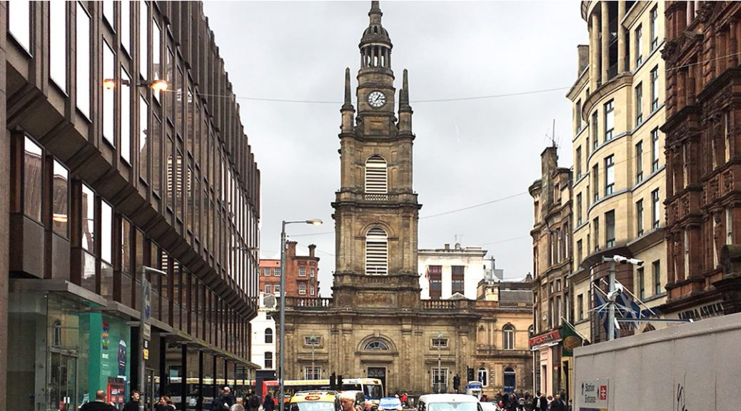 External view of St George's Tron Church in Glasgow