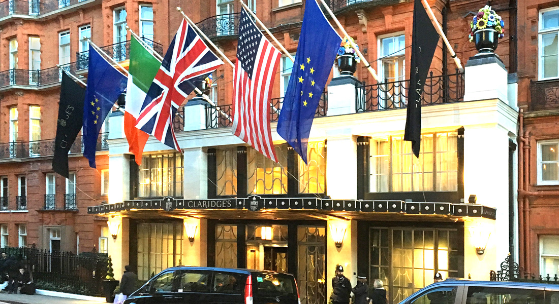 If you're negotiation is breaking down, try Claridges!