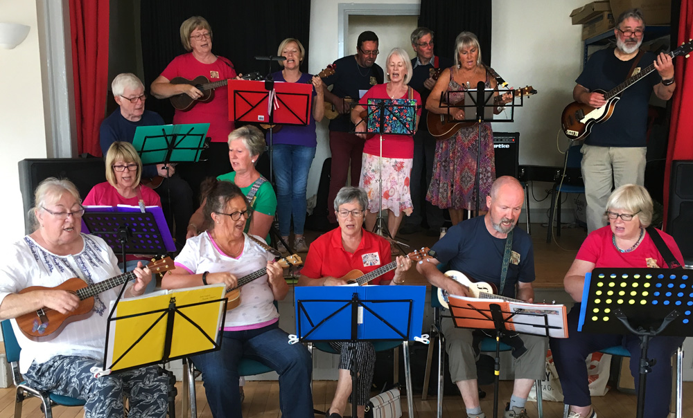Loch Lomond Ukulele Orchestra Archives - Scones, history and